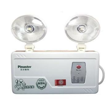 π拿斯特 消防应急照明灯 椭圆防火塑料头,金属拉伸灯身, M-ZFZD-E5W1100 (P1100)
