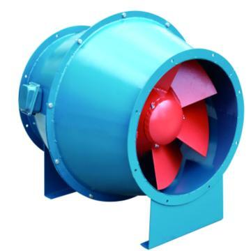 应达 玻璃钢型FSJG斜流式通风机,FSJG-3.0,0.37KW-4P,380V,1450rpm,500-2000m3/h,260-130Pa