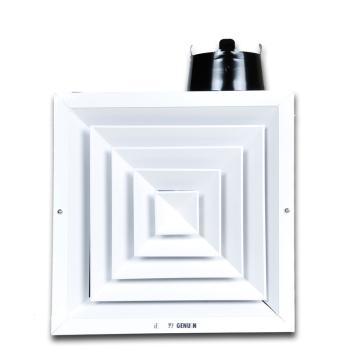 正野 天花板管道金属换气扇,BPT25-56A,150W