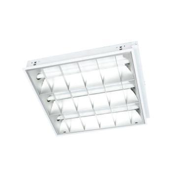 华荣 WAROM LED T8格栅灯盘,GFD5162-3*10,3X10W,1197X297mm,白光5500K,双端进电,嵌入式(吊链)