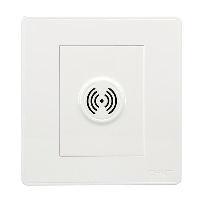 正泰 NEW7S系列一位声光控延时开关(100W),NEW7-S30700 白色