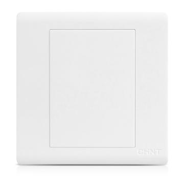 正泰 NEW7S系列一位空白面板,NEW7-S95100 白色