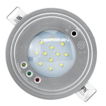 π拿斯特 消防应急照明灯 嵌顶阻燃塑料天花灯,贴片LED,银灰色, M-ZFZD-E5W1108 (P1108)