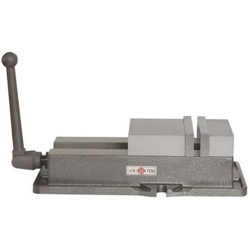 金丰 角固式平口钳QM16160L,钳口开度200mm