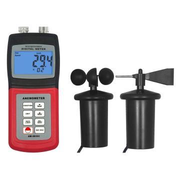 多功能风速表,(风速风量 风级温度,风向)AM4836C