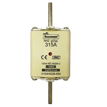 Bussmann 低压熔断器/NH系列熔断器,315NHG2B-690