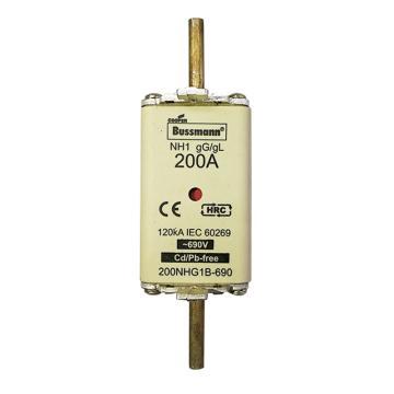 Bussmann 低压熔断器/NH系列熔断器,200NHG1B-690