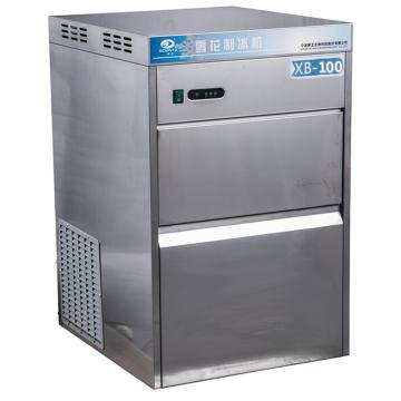 雪花 制冰机,全自动、制冰量:100kg,/24h、储冰量:25kg,XB-100