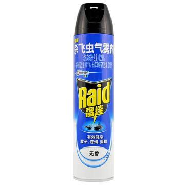 雷达Raid 杀飞虫气雾剂,驱虫用品,无香600ml 单位:瓶