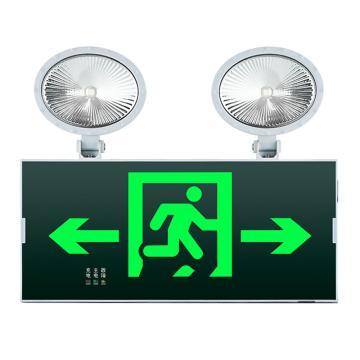 π拿斯特 消防应急标志灯 防火塑料超窄边框照明标志灯 自带强启功能 双向, N-ZBLZD-1LROEⅠ12WFAO (P1727)