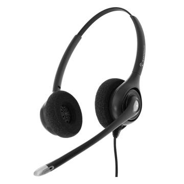 缤特力(Plantronics)HW261N 双耳宽频降噪高清耳麦 适用联络中心座席/电话营销/400电话客服中心TCO认证