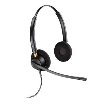 缤特力 双耳电话呼叫中心客服耳麦,线另配,HW520