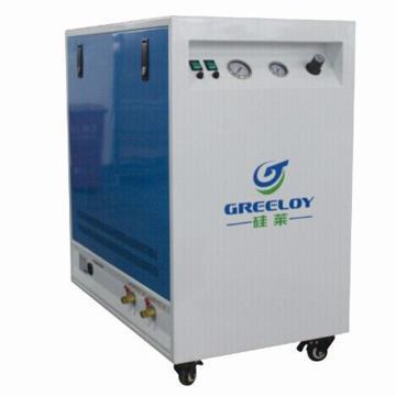 静音无油空压机,排气量:236L/min