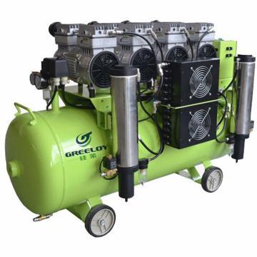 静音无油无水空压机,排气量:620L/min