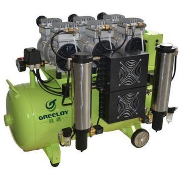 静音无油空压机 带干燥器,排气量:310L/min