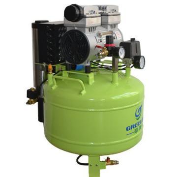 静音无油无水空压机,排气量:155L/min