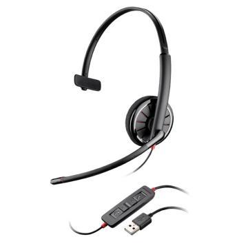 缤特力C310-M USB电脑话务耳麦网络通话话务耳机电话