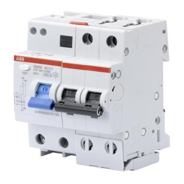 ABB 电子式AC瞬动型漏电保护断路器,GSH202 AC-B6/0.03