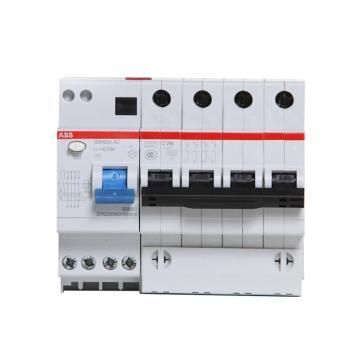 ABB 微型剩余电流保护断路器 GSH204(GSH200) 4P 50A C型 100mA AC GSH204 AC S-C50/0.1
