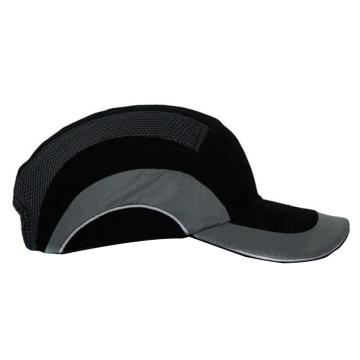 JSP 01-5004舒适型运动安全帽,黑灰,帽檐7cm,1顶