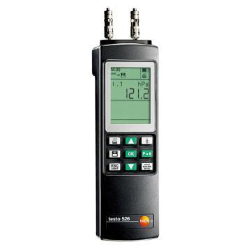 德图/Testo 工业级差压仪,0~2000hPa,testo 526-2,订货号:0560 5281