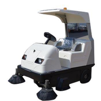 洁德美电动驾驶式扫地机,JH-1760(带棚顶)