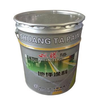 双塔 马路划线漆,中黄,国标色卡图号:GSB05-1426-2001 60 Y02,23kg/桶