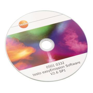 德图/Testo easyEmission软件,用于testo 335,带USB连接电缆,订货号:0554 3334