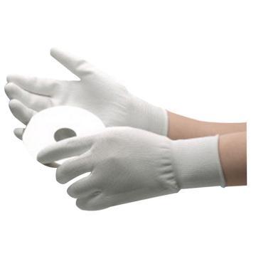15针尼龙掌涂PU手套,尺码:M