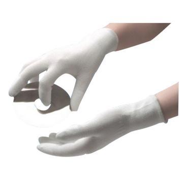 15针尼龙指涂PU手套,尺码:S