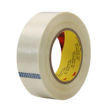 3M单面聚丙乙烯纤维胶带, 透明色 宽度20mm