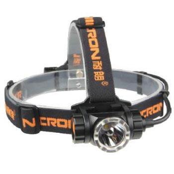 耐朗 H30 远射USB直充铝合金头灯 9W 18650锂电(含头灯+18650电池+USB充电线)