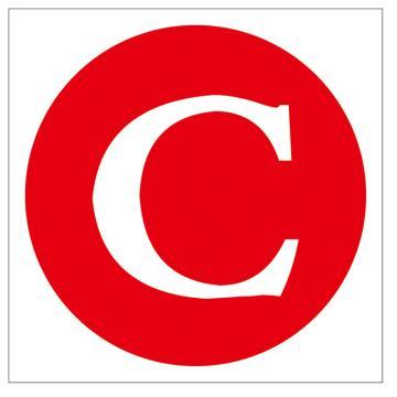 鸿依帆 电力安全标识,线路(母线)相位标志-C,不锈钢雕刻烤漆,200*160*0.7mm
