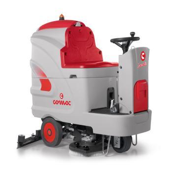 高美COMAC驾驶式洗地机(含电瓶、充电器、洗地刷),85B