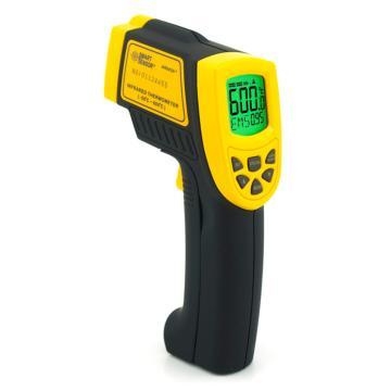 希玛/SMART SENSOR 工业型红外测温仪AR842A+,-50℃~600℃,12:1,发射率可调