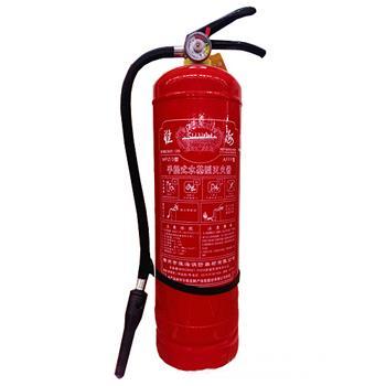 手提式水基型泡沫灭火器(6kg)-水基型泡沫灭火剂,灭火剂重6kg,灭火级别1A55B,15476