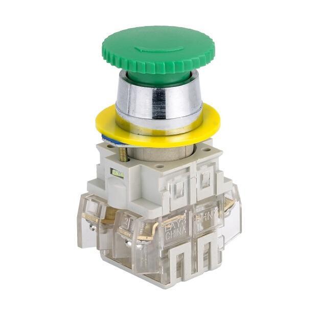 正泰 蘑菇头按钮,LAY3-11M/1 绿 φ35