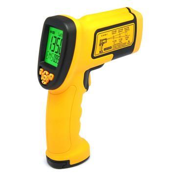 希玛/SMART SENSOR 红外线测温仪AS872,-18℃~1350℃,50:1,发射率可调
