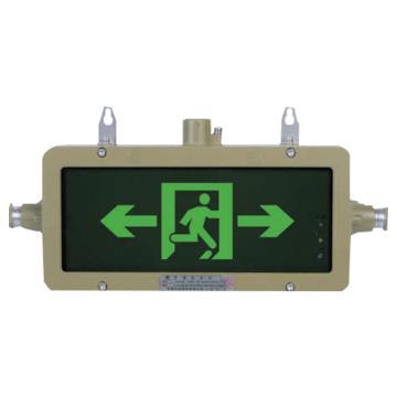 华荣 防爆标志灯,单面 吸顶式B,HR-BLZD-I 1LRE4W,单位:个