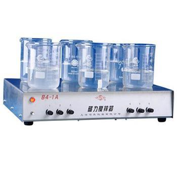 多工位磁力搅拌器,84-1A(6),(20~1000)ml*6