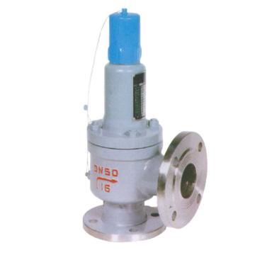 克罗斯 弹簧式安全阀,,A42Y-40,DN50,PN40,整定压力0.7MPa,压力等级0.7-1.0MP,介质导热油