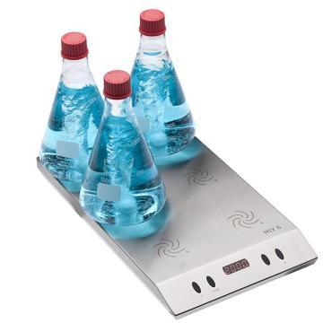 搅拌器,Wiggens,多位电磁感应磁驱,WHMIX 6,搅拌位数:6,每单位搅拌量:1-3000ml