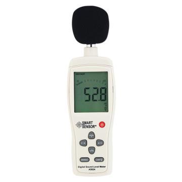 希玛/SMART SENSOR 数字噪音计AS824,30~130dBA/35~130dBC