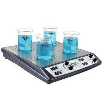 搅拌器,Wiggens,数字调节式,WH-410D,显示方式:LCD显示,搅拌位数:4,搅拌台面尺寸:313x303mm