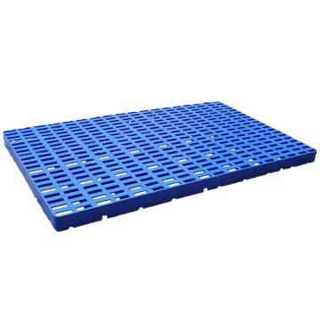 恋亚 防潮垫仓板,全新HDPE料,尺寸(W*D*H)mm:1000*700*50,蓝色,承重:1T