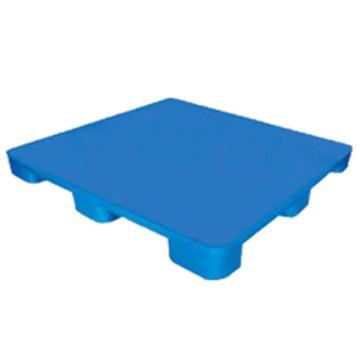 恋亚 塑料托盘,平板九脚,全新HDPE料,尺寸(W*D*H)mm:1300*1100*135,蓝色,动载1T,静载4T