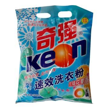 奇强洗衣粉,508g 12袋/箱 单位:袋