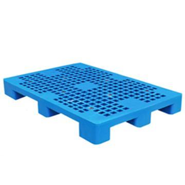恋亚 塑料托盘,网格九脚,全新HDPE料,尺寸(W*D*H)mm:1200*1100*135,蓝色,动载1T,静载4T