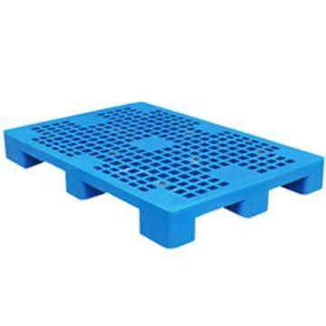 恋亚 塑料托盘,网格九脚,全新HDPE料,尺寸(W*D*H)mm:1200*800*160,蓝色,动载1T,静载4T