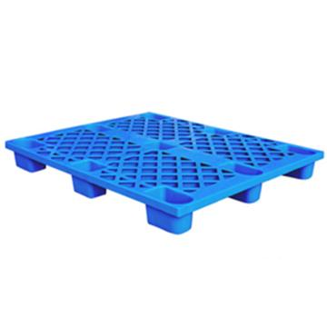恋亚 塑料托盘,网格九脚,全新HDPE料,尺寸(W*D*H)mm:1100*900*145,蓝色,动载1T,静载4T